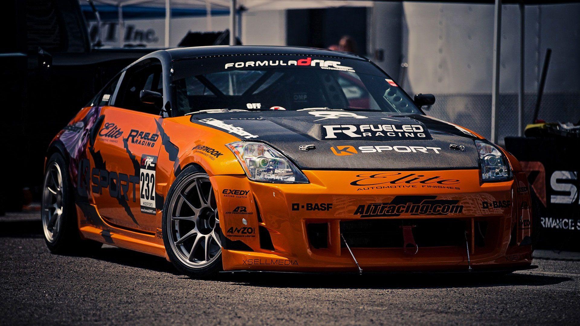 Drift Racing Cars Nissan Formula Drift Race Car Full Hd