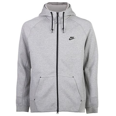 89c6ef05d34c NIKE TECH FLEECE FULL ZIP AW77 1.0   DARK GREY HEATHER