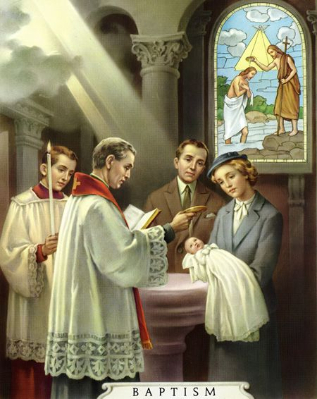 catholic+baptism | Jesus answered: Amen, amen I say to thee, unless a man be born again ...