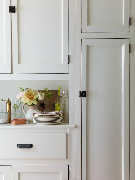 Black Hardware Kitchen Cabinet Ideas Kitchen Inspirations