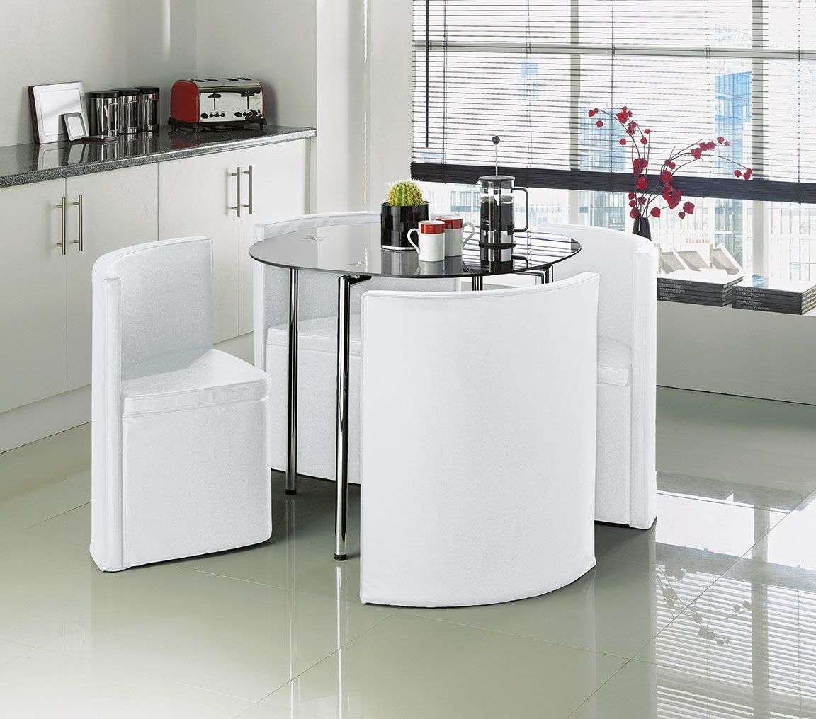 A Unique And Stylish Dining Set That's Part Of The Urban