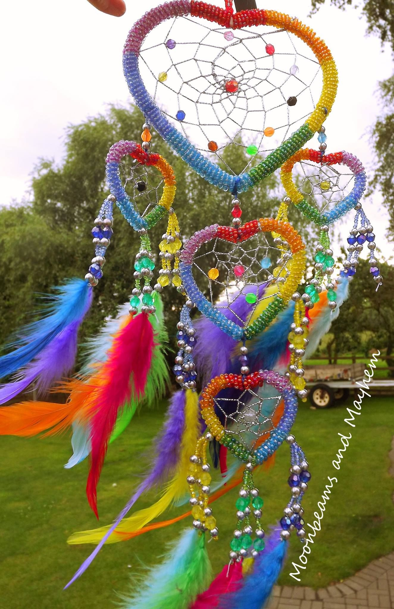 Rainbow Dream Catcher Rainbows Other Colorful