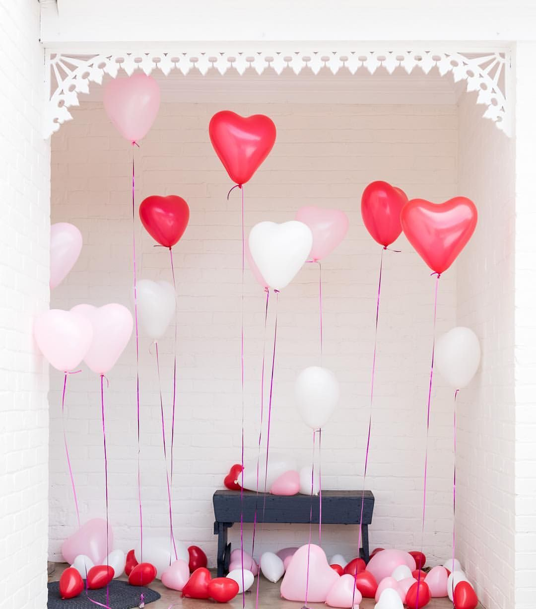 "1,031 Likes, 19 Comments - The House that Lars Built (@houselarsbuilt) on Instagram: ""Give someone a Balloon 🎈Heart ♥️ Attack this Valentine's Day! Surprise your Valentine by covering…"""