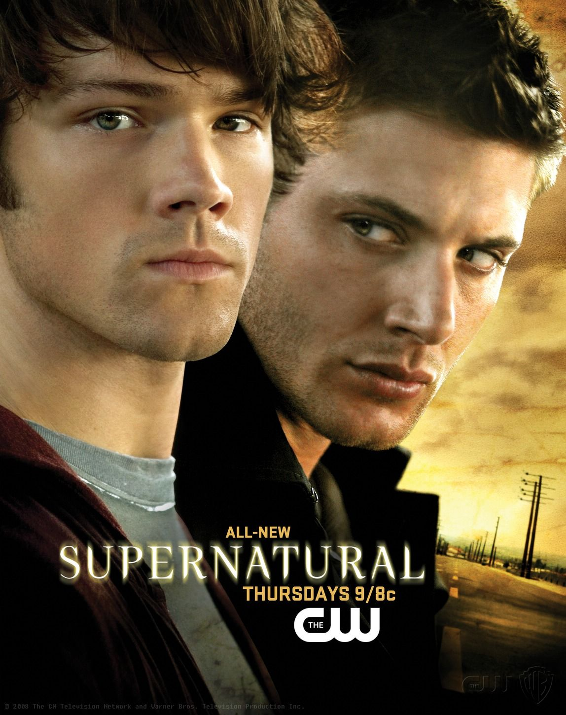 Jensen Ackles 3 American Actor Days of Our Lives Smallville Supernatural Poster