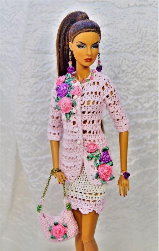 Chaqueta, Falda, bolsa de joyería para Fashion Royalty, Poppy Parker, FR2, Barbie
