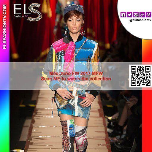#Moschino #mfw2017 fall winter Full Show HQ #photos #elsfashiontv https://t.co/FE9SbVnm51 #mfw #mfw17  Click on th https://t.co/MBq9T7dH3E