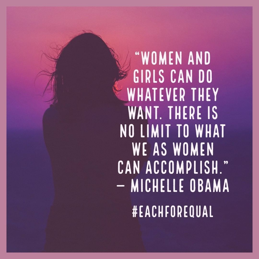 Celebrating Women S History Month Inspirational Quotes Women In History Michelle Obama