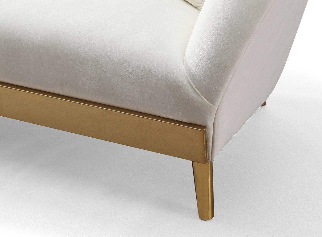 Chloe Cream Velvet Sofa Sofa Colors Velvet Sofa Gold Sofa