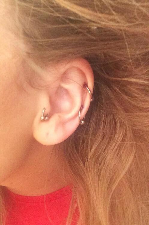 Perrie's piercings