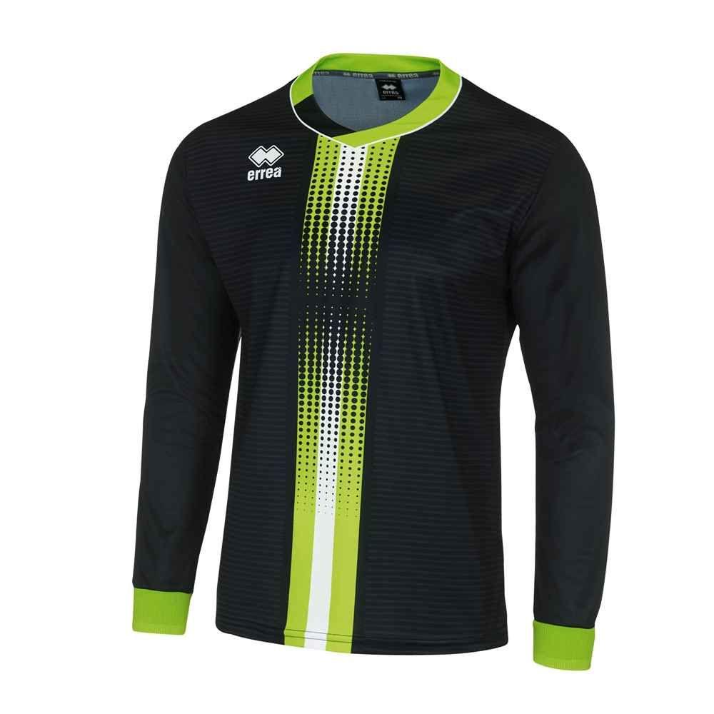 Errea Bremen Ls Sort Gronn Hvit Long Sleeve Tshirt Men Mens Tops Soccer Tshirts