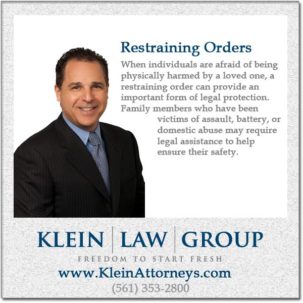 Pin by Klein Law Group on Family Law Pinterest Restraining order