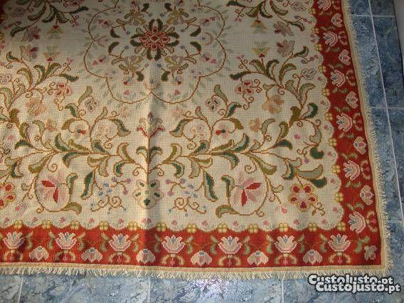 Restauro de tapetes de arraiolos venda freelancers lisboa alfombras pinterest - Alfombras portugal ...