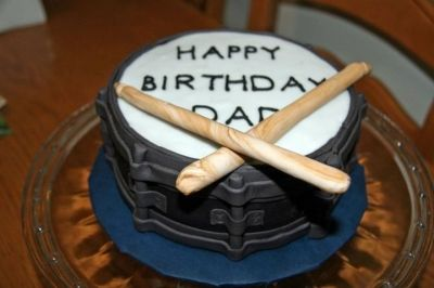 Snare Drum By jesika3434 on CakeCentral.com