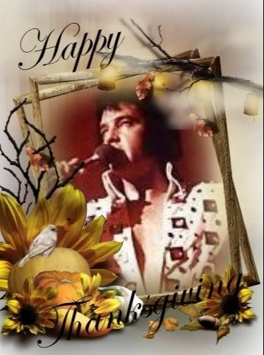 Elvis Presley Thanksgiving