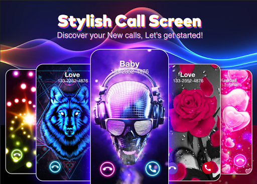 Color Flash Launcher Call Screen, Themes APK Nugeulis