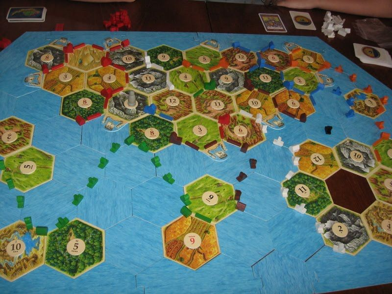 The Settlers Of Catan Seafarers Expansion 5 6 Player Extension Settlers Of Catan Kids Rugs The Settlers