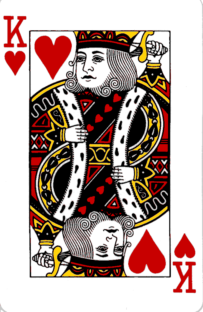 Quennofhartes King And Queen Of Hearts Playing Cards Conradaskland Com King Of Hearts Card Hearts Playing Cards King Of Hearts
