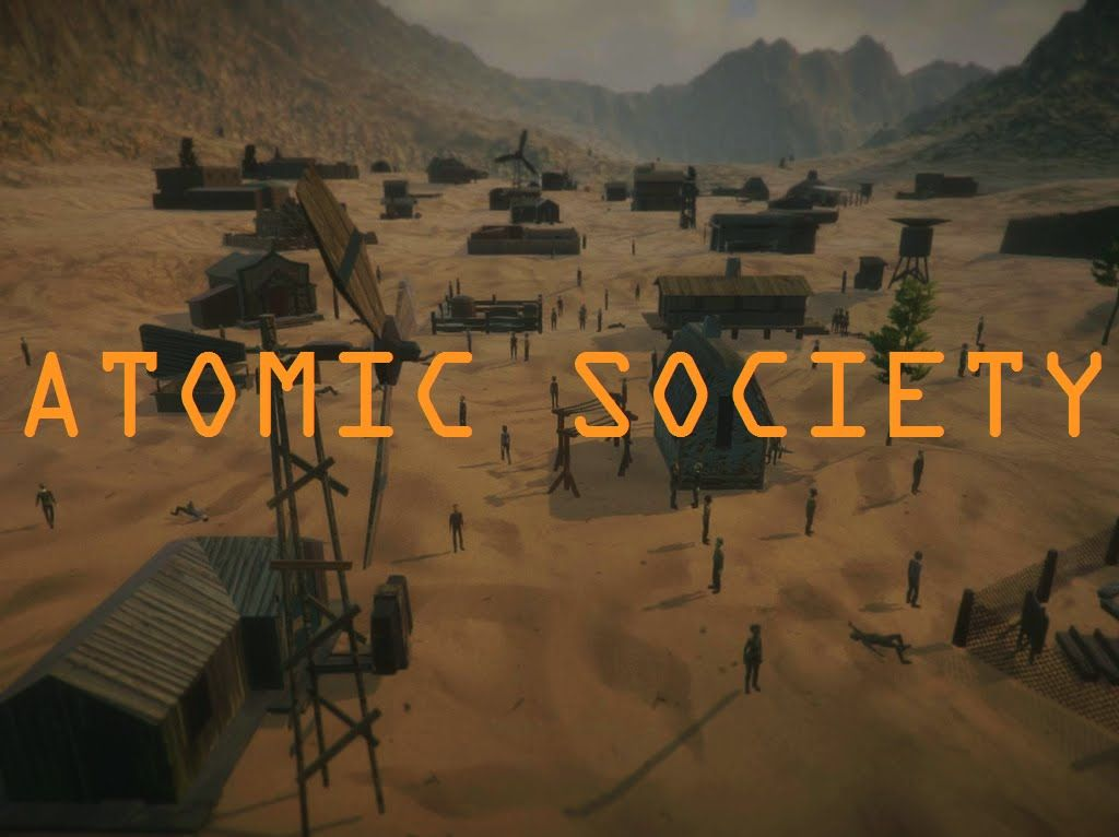 atomic society post apocalyptic city building game concept trailer