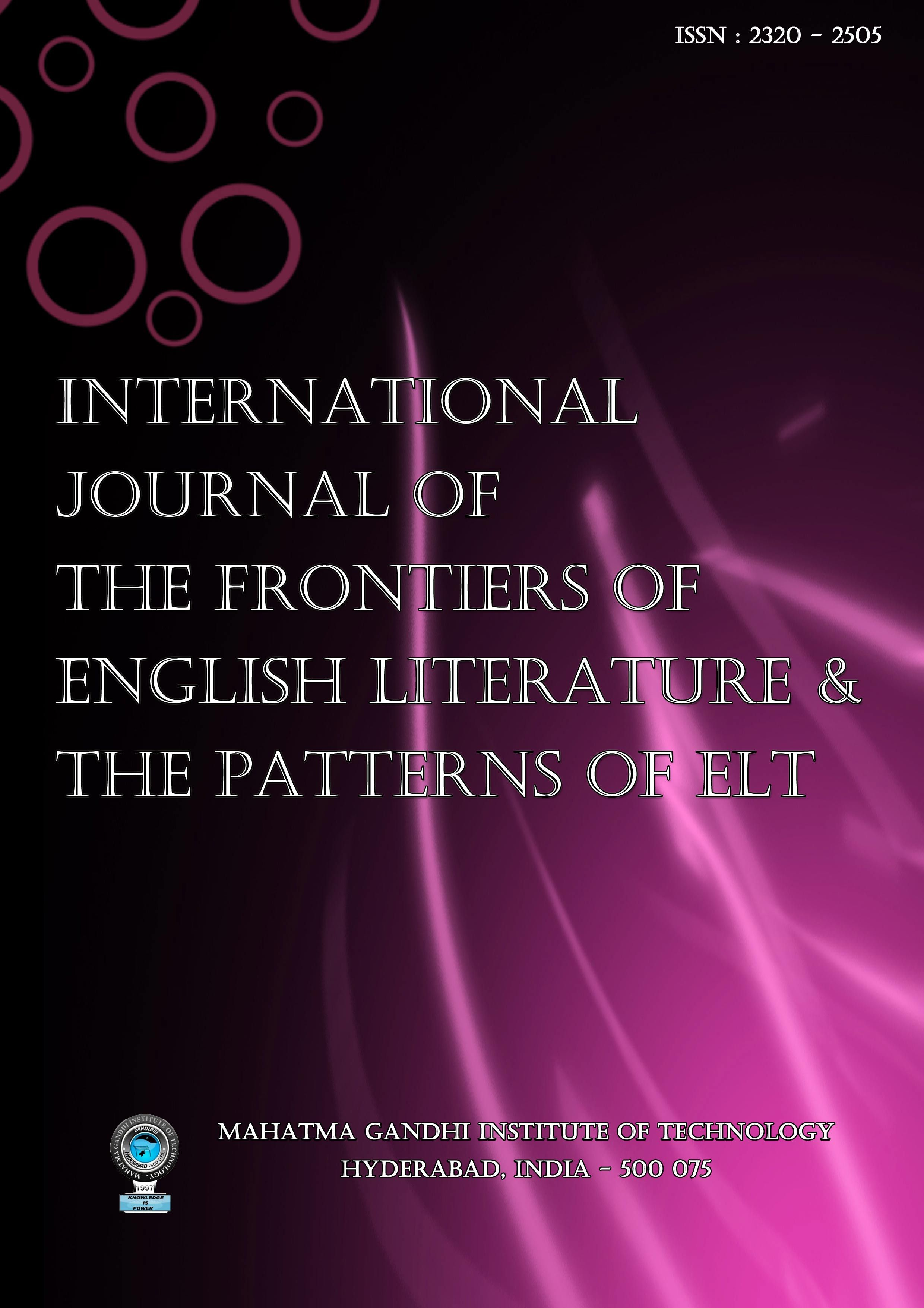 indian journals of english literature