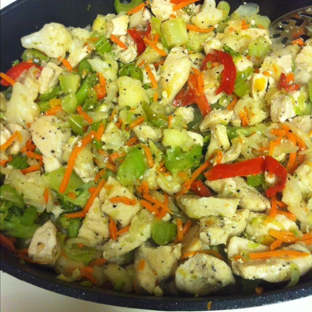Paleo- Chicken Stir Fry