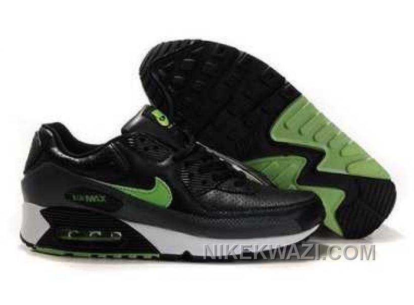 http://www.nikekwazi.com/nike-air-max-90-mens-green-black.html NIKE AIR MAX 90 MENS GREEN BLACK Only $82.00 , Free Shipping!