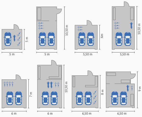 D2h1t9243qzgjg Cloudfront Net Uploads Attachment Image 941 Planungsbeispiele Grossraumgaragen Jpg Garagen Grundrisse Haus Mit Garage Doppelgarage