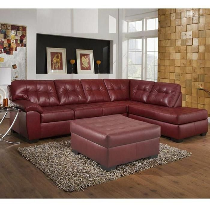 2 Piece Sectional in Soho Cardinal | Nebraska Furniture Mart : nebraska furniture mart sectional sofas - Sectionals, Sofas & Couches