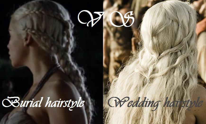 Daenerys Targaryen Hairstyles From Game Of Thrones Hair Styles Targaryen Hair Wedding Hairstyles
