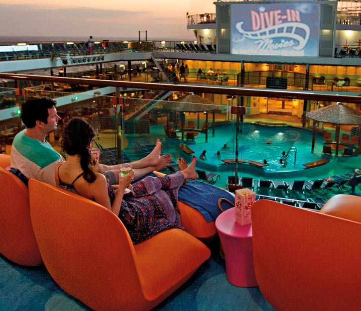Carnival Cruise Lines Carnival S Seaside Theatre