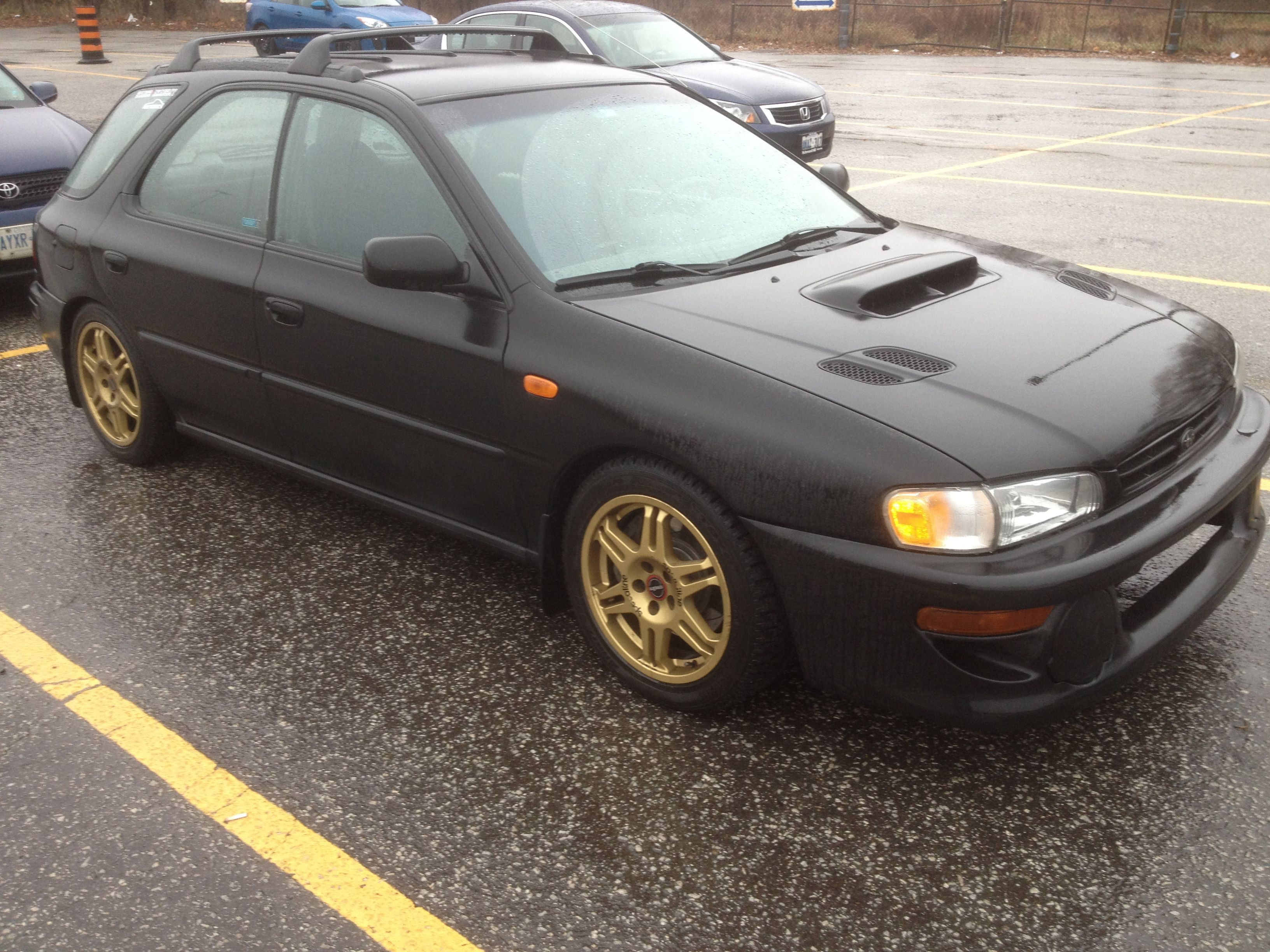 My old Subaru Outback Sport with Ver 5 swap 281whp