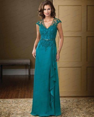 vestidos para la mama de la novia para gorditas | patrones de