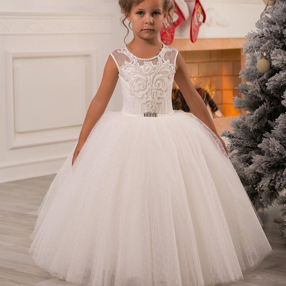 Click to buy ucuc flower girl dresses vestidos de communion