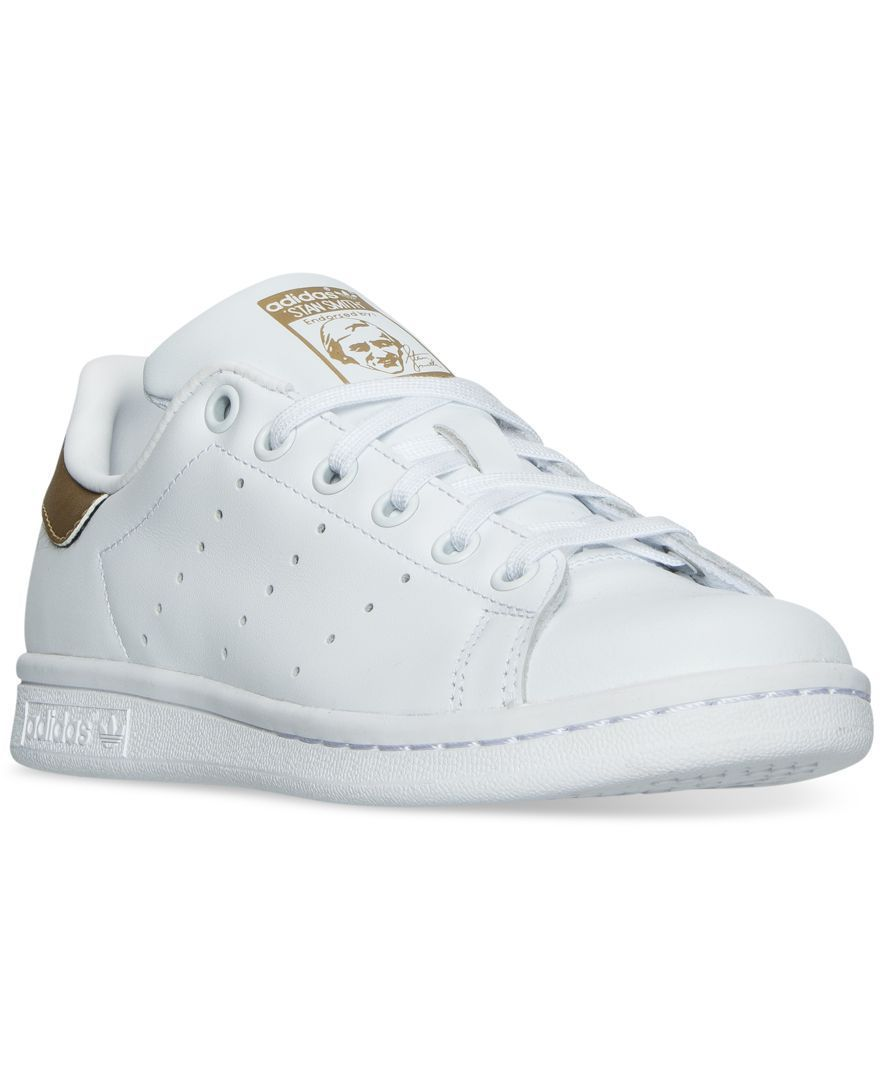 adidas Big Girls' Stan Smith Casual Sneakers from Finish Line - Finish Line  Athletic Shoes - Kids & Baby - Macy's