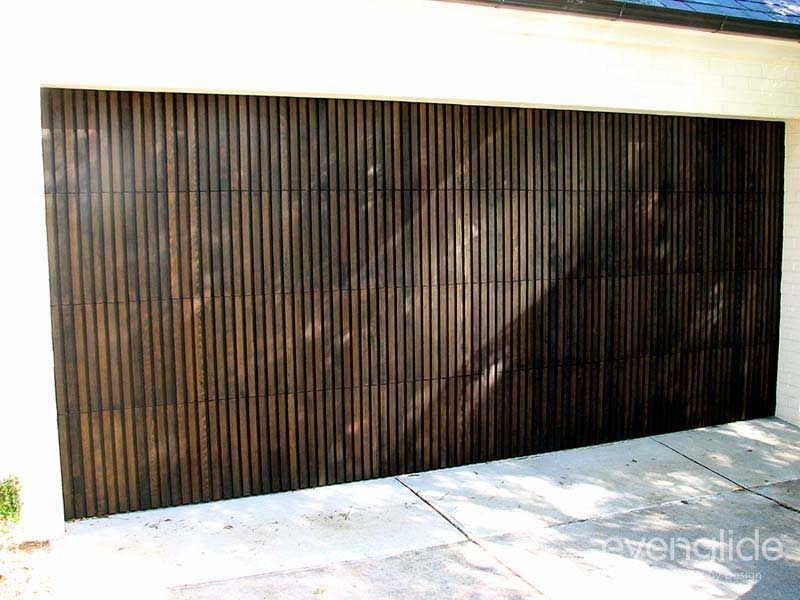 Timber Sectional Door Consisting Of Plywood Timber And