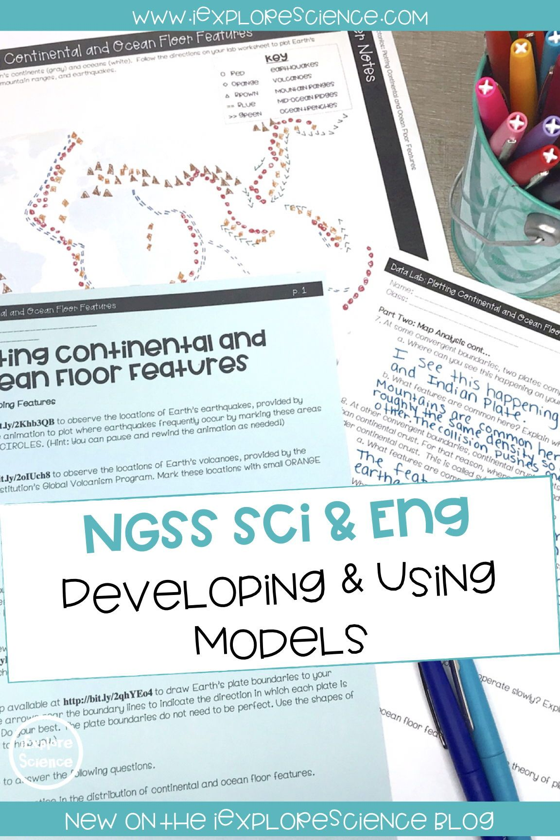 Ngss Modeling Is Not An Art Project Ngss Science Blog Plate Tectonics Lesson