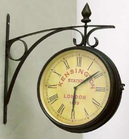 Looking For An Inexpensive Clock To Hang Off The Side Wall In Kitchen Where Get One Clocks