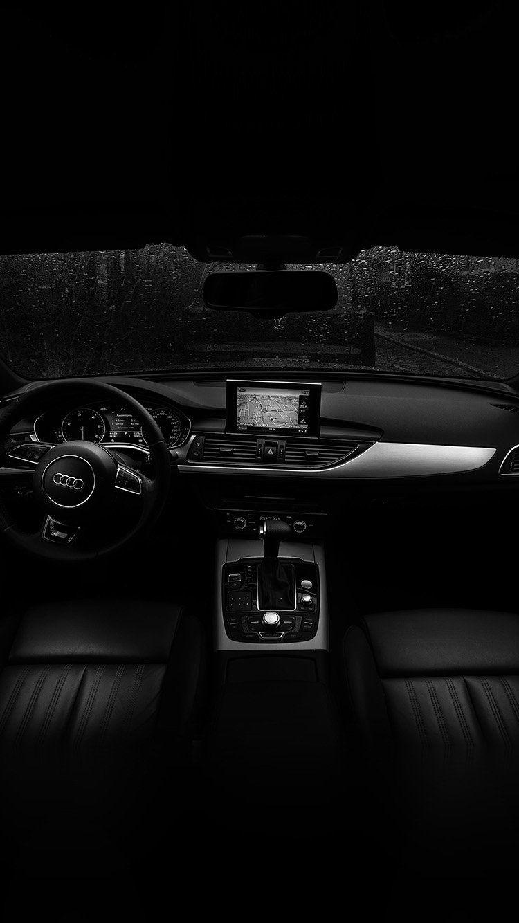 No06 Audi Car Interior Dark Bw Audi Cars Audi Car Interior