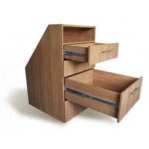pour le lien vers leur meuble sous pente amenagement trucs et astuces pinterest meuble. Black Bedroom Furniture Sets. Home Design Ideas