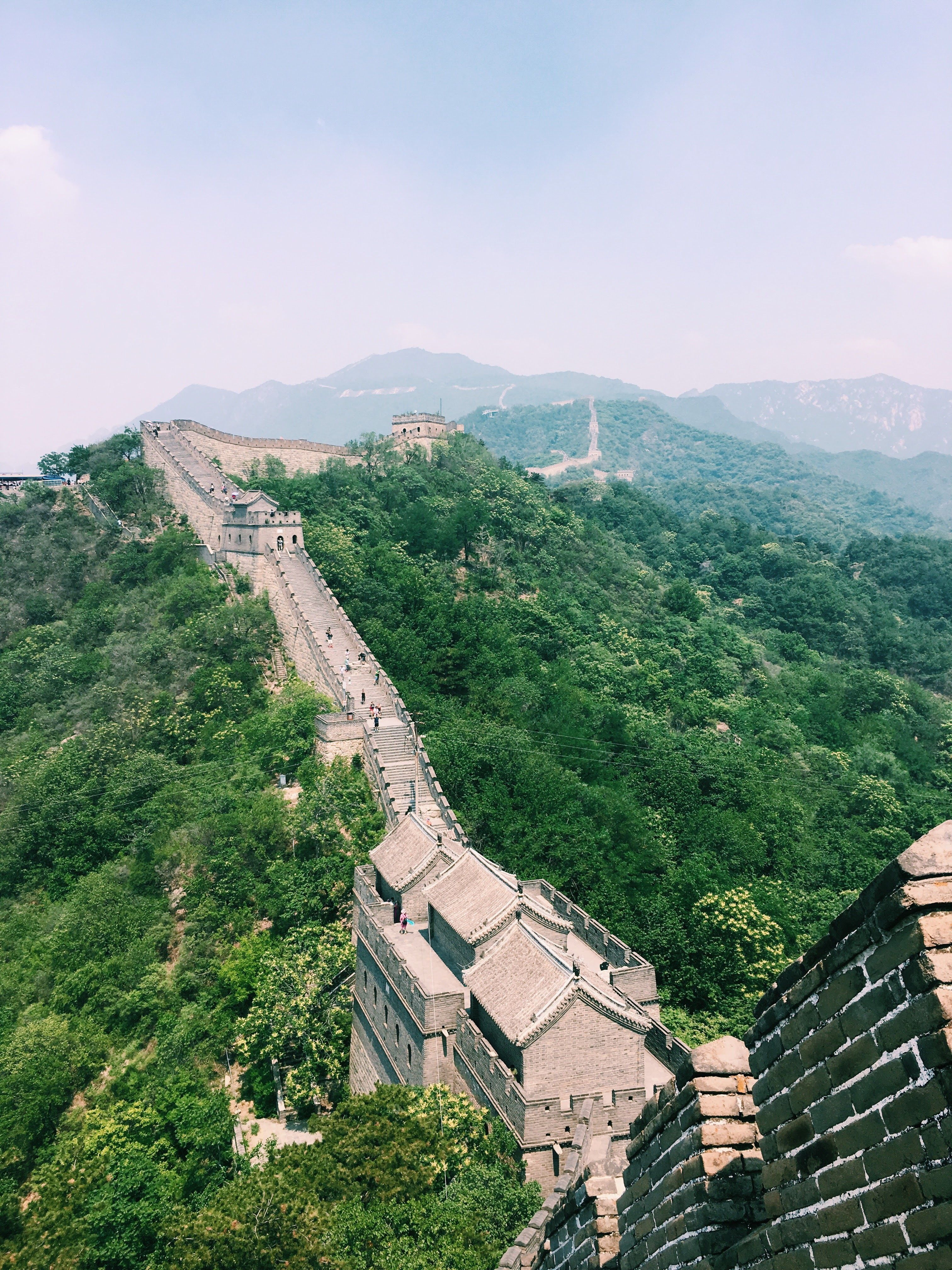 The Great Wall Of China Chinesische Mauer Mauer