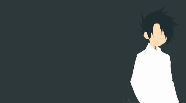 1242x2688 Ray The Promised Neverland Minimal Iphone XS MAX Wallpaper, HD Minimalist 4K Wallpapers, Images, Photos and Background - Wallpapers Den