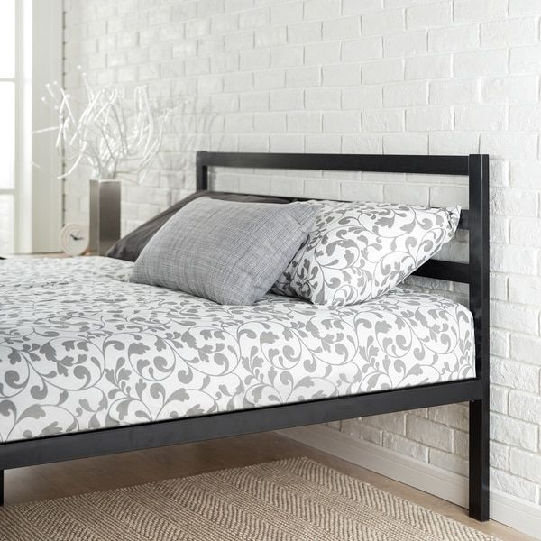 The Priage platform bed fits a queen size mattress It features a