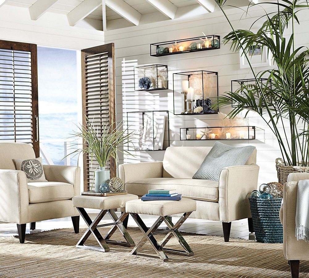 7 Ways to Decorate with White | Decorating, Living rooms and Coastal