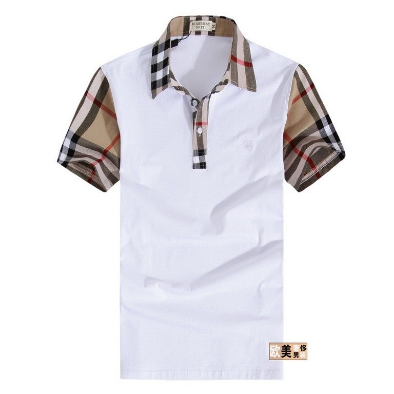 cheap discount Burberry Men Short Sleeve Polos SNBURSPOM161 ...