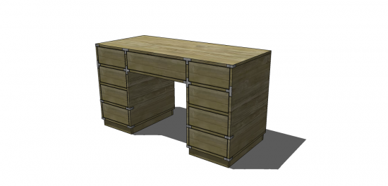 Groovy Free Diy Furniture Plans To Build A Campaign Desk The Download Free Architecture Designs Scobabritishbridgeorg