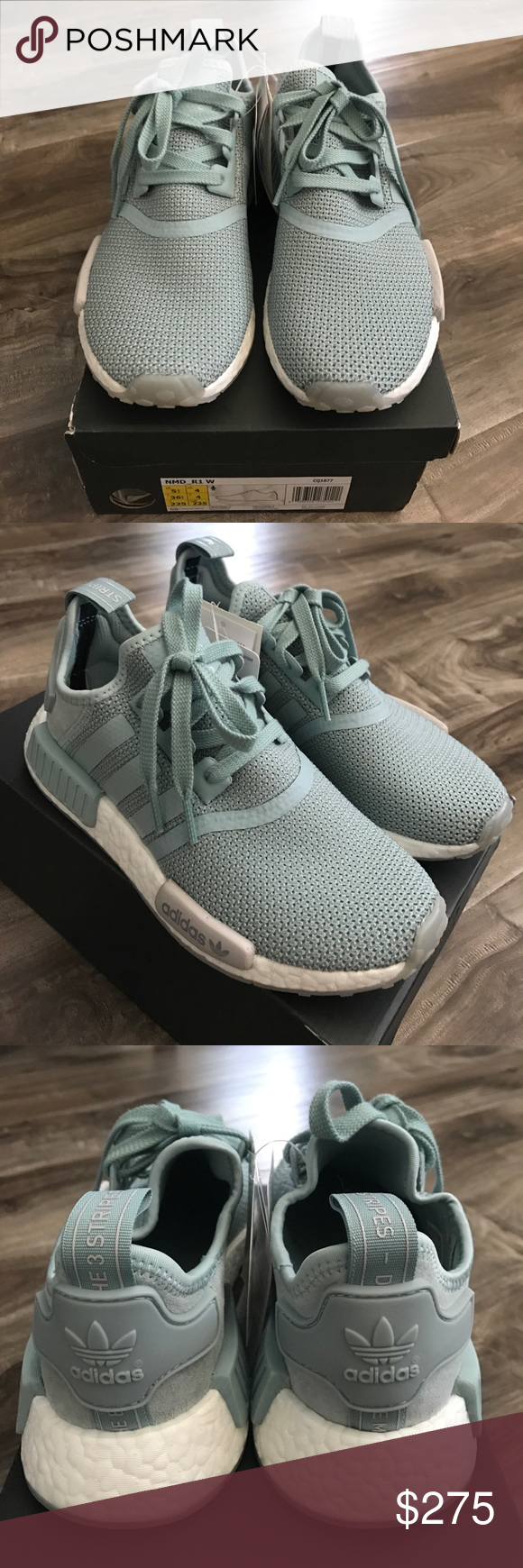separation shoes 79a7a cef1c Adidas NMD R1 Mint Green Women s 5 1 2 Adidas NMD R1 Mint Green.