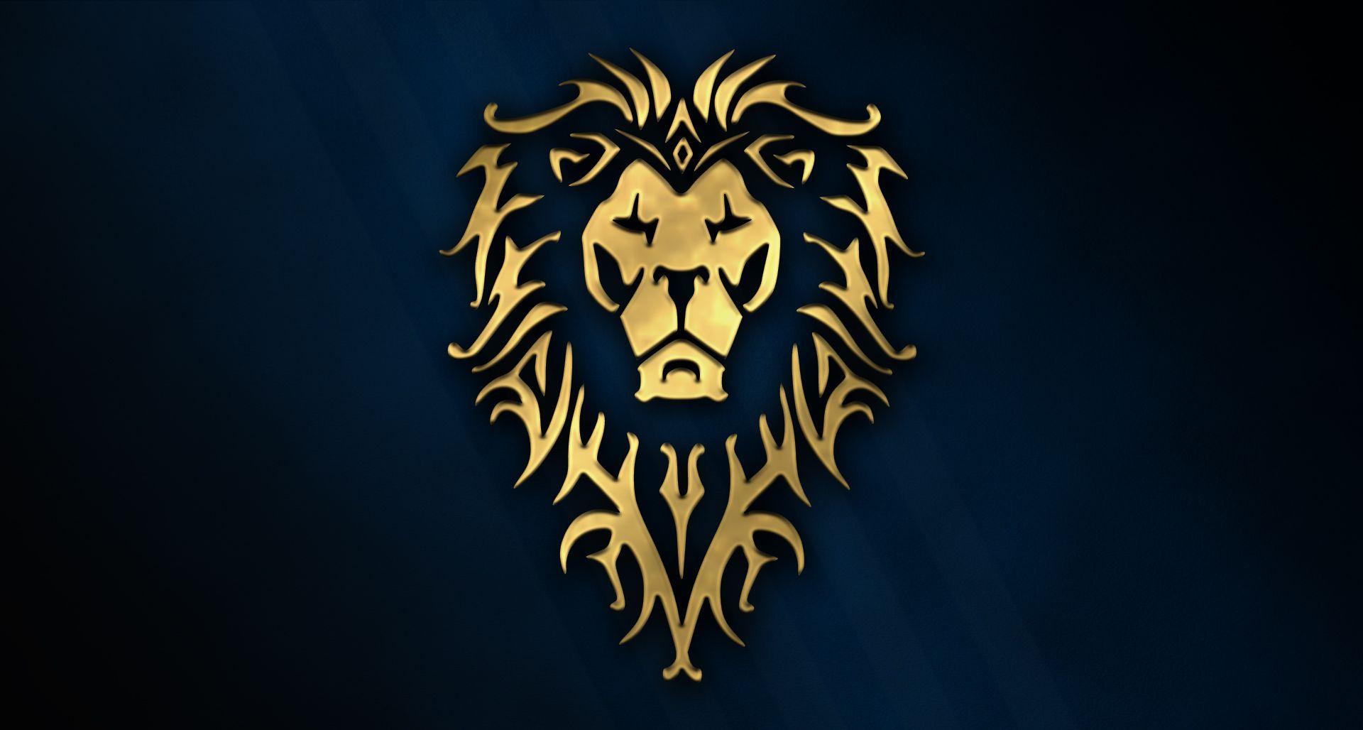 Worldofwarcraftwallpaper Explore Worldofwarcraftwallpaper On Warcraft Art Lion Logo Warcraft Movie