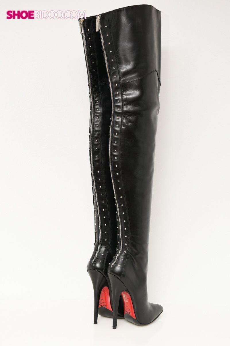 9720699cbc3 Gio Hel - extreme long leather thigh boots [2010] #Highheelboots ...