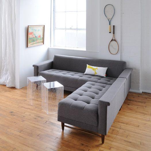 Gus Modern Harbord Loft Bi Sectional Modern Sofa Sectional Modern Sectional Corner Sectional Sofa