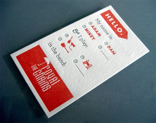 oh, hello friend: you are loved.: collections / business card round up #2: