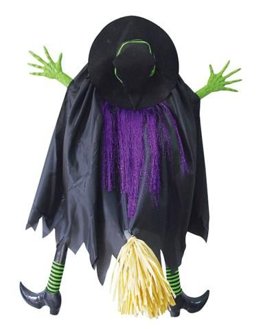 3\u0027 Crashing Witch Halloween Pinterest Witches, Hocus pocus